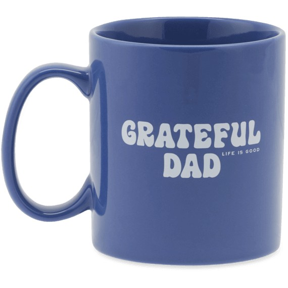 Jake's Mug, Grateful Dad, Darkest Blue