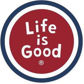 Life is Good LIG Sticker