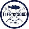 LIG Sticker Keep it Reel Fishing