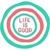Die Cut Sticker, Life is Good