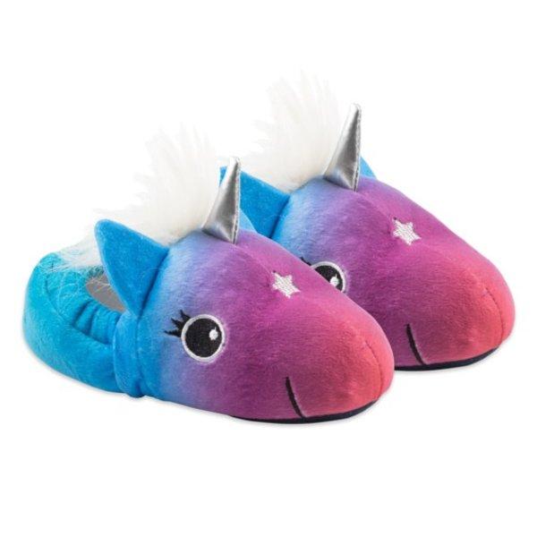 Life is Good Girls Unicorn Slippers