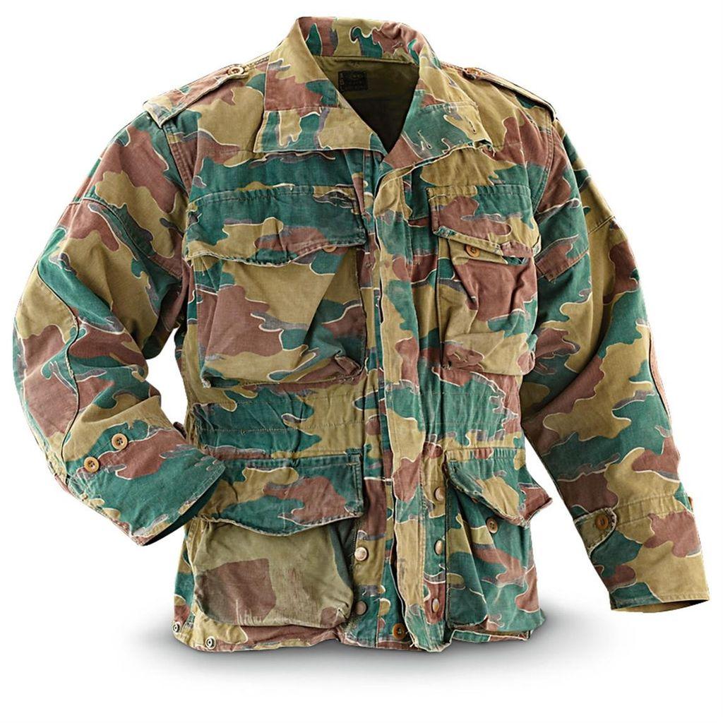 GENUINE SURPLUS Jacket, Belgium, Jump Smock, <br />M56 Type, Geniune Issue