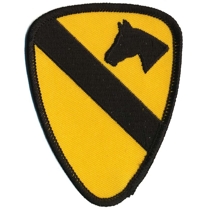 Patch - US 1st Cavalry Div.
