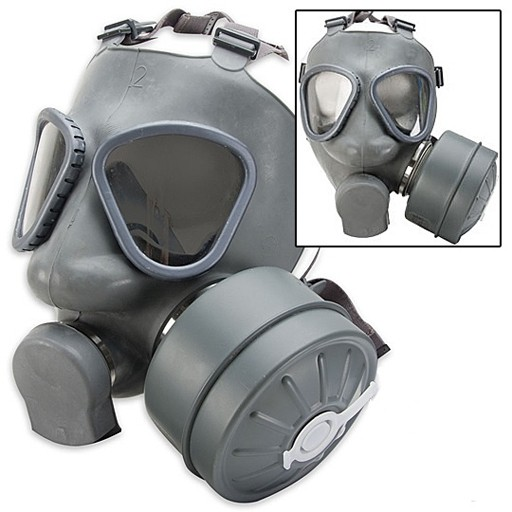GENUINE SURPLUS Gas Mask - M-61 - Finnish