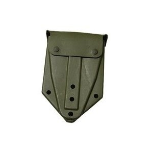 GENUINE SURPLUS Shovel, Tri-Fold, Cover, US, Olive