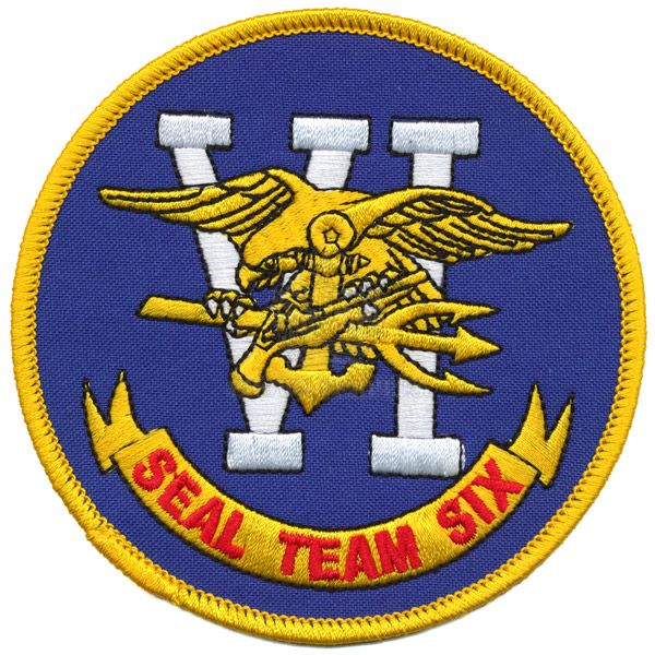 Patch, Seal Team Six, 4''
