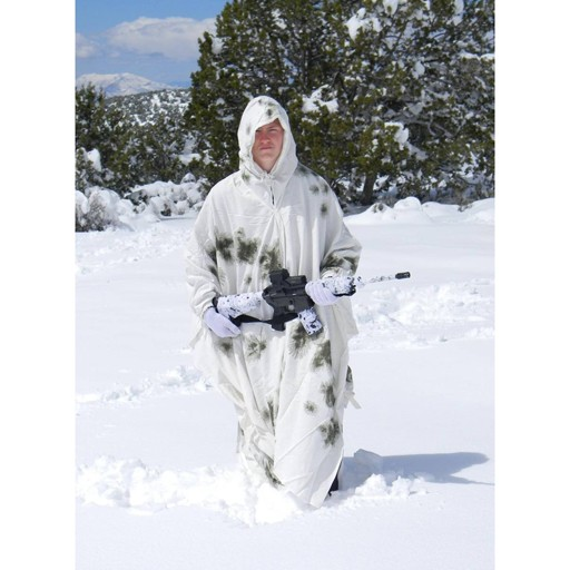 GENUINE SURPLUS Cape - German Issue - Schneetarn - Winter Snow Camouflage