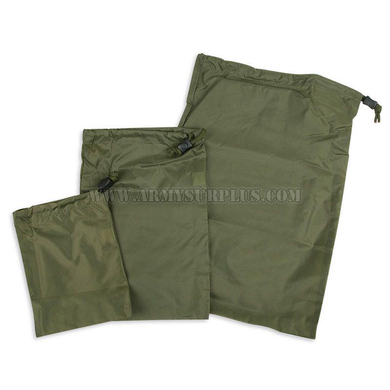 TASMANIAN TIGER Flat Bag, Set of 3, Tasmanian Tiger, Olive