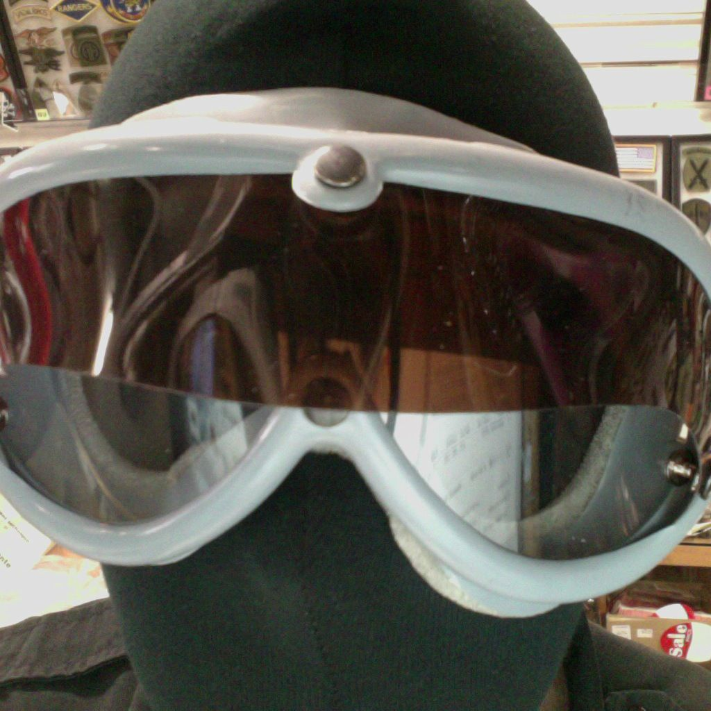 GENUINE SURPLUS German Issue, Desert Tanker Goggles