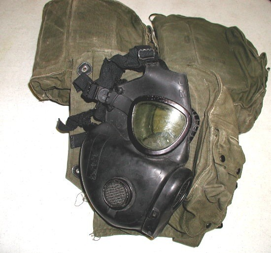 GENUINE SURPLUS Gas Mask - US M-17A1