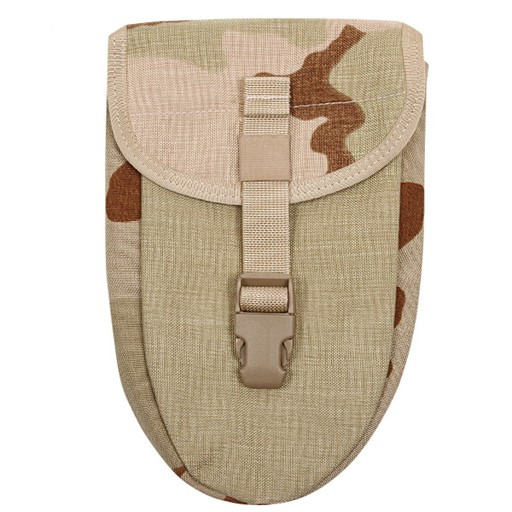 GENUINE SURPLUS Shovel Cover, Trifold, 3 Colour Desert