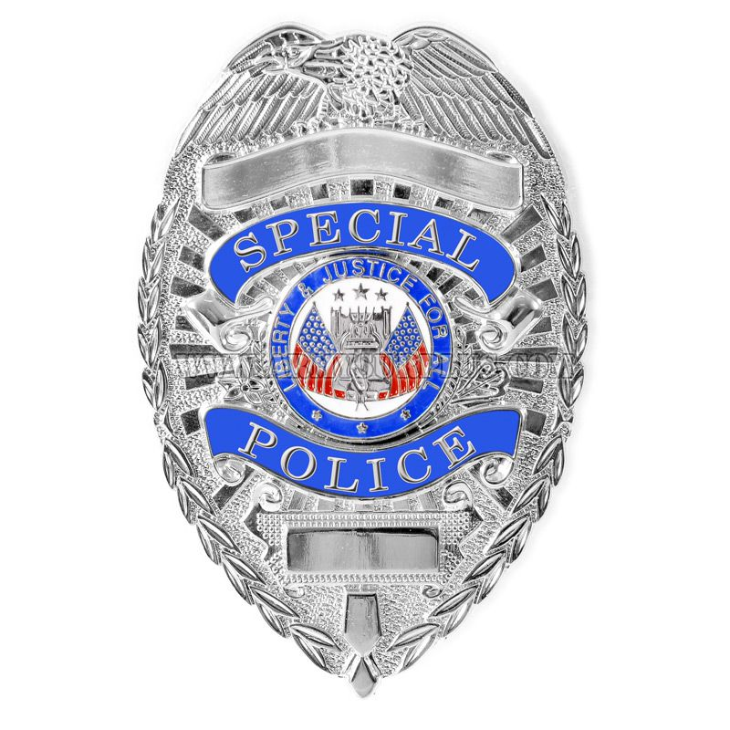 ROTHCO Rothco, Deluxe Special Police Badge, Silver