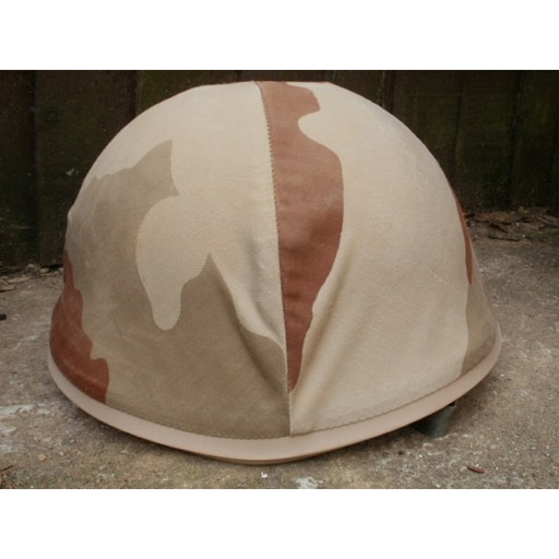 GENUINE SURPLUS Helmet - French M-78 F1 - c/w Desert Camouflage Cover