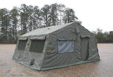 GENUINE SURPLUS Tent - 16' x 16' Frame