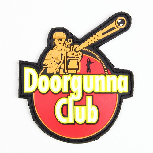 Morale Patch. Doorgunna Club, Large