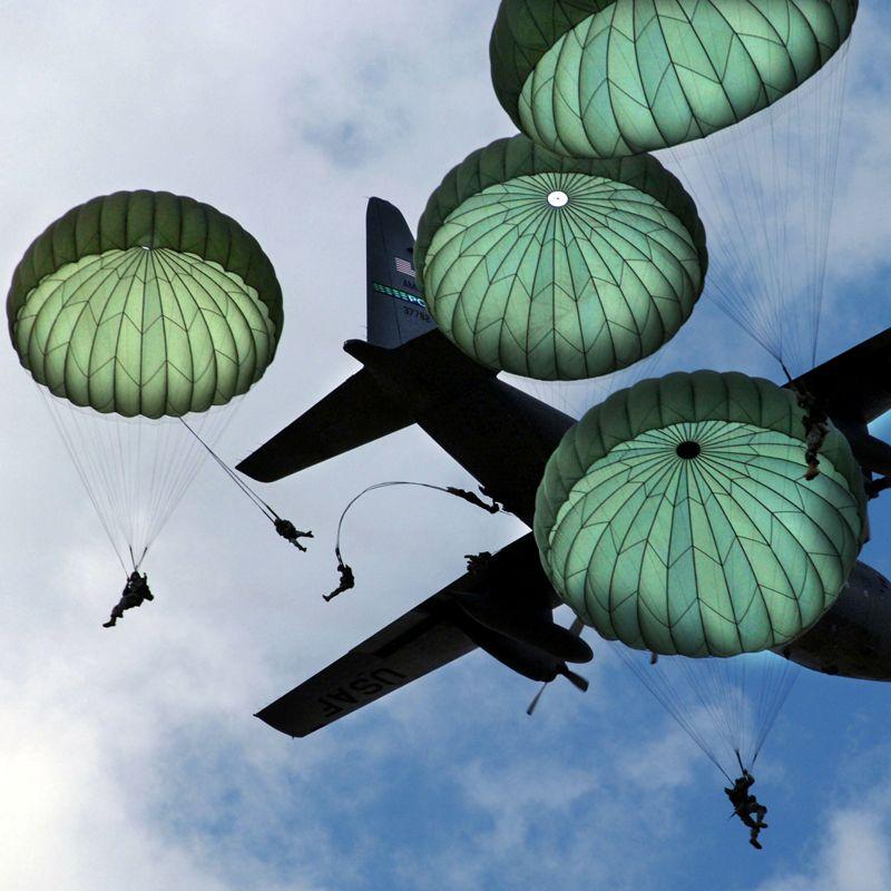 PARACHUTE Parachute, 24 ft. Dia., T-10R [28 Panel]