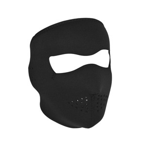 ZAN ZAN Headgear, Tactical Neoprene Full Mask, Black