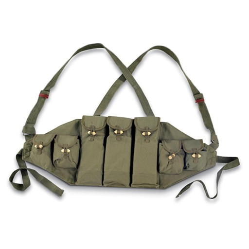 GENUINE SURPLUS Chest Rig, AK-47, Chinese Issue