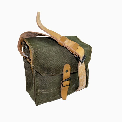 GENUINE SURPLUS French Canvas Ammo Bag