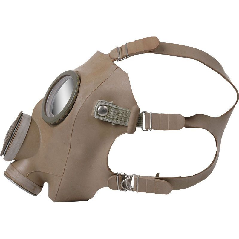 GENUINE SURPLUS Gas Mask - M-51 - Belgium/French