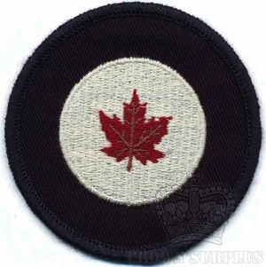 RED CANOE Patch - RCAF Roundel - S [1946-1965 era]