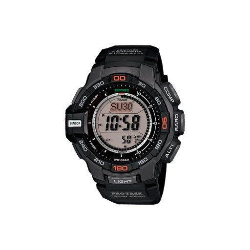 G-Shock Introducing the Solar Powered PRG270 which incorporates Casio's new Triple Sensor Version 3 engine. Advanced CASIO original technology has allowed for a 95% smaller direction sensor and 90% reduction in sensor power consumption compared to previous models