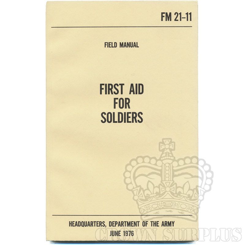 Book - First Aid for Soldiers [FM 21-11]