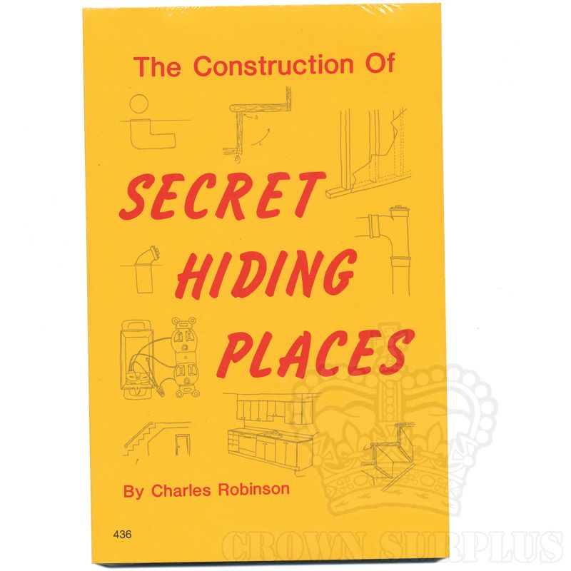 Book - The Construction of Secret Hiding Places