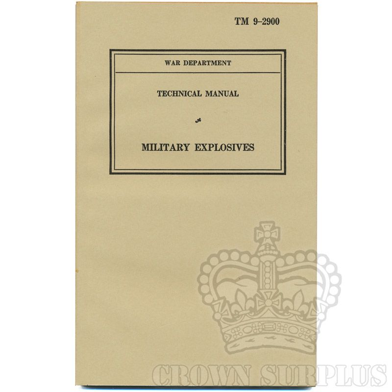 Book - Technical Manual of Military Explosives