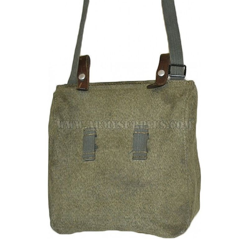 GENUINE SURPLUS Bag - Shoulder - Swiss - Salt & Pepper - S