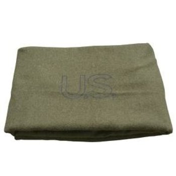 GENUINE SURPLUS Blanket - Wool - US Issue - Olive