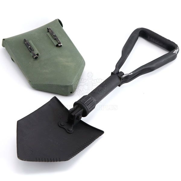 GENUINE SURPLUS Shovel - Tri-Fold Trenching - US Issue w/ Cover