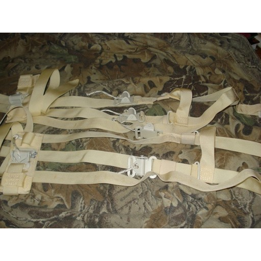 GENUINE SURPLUS Snow Shoe Bindings - Universal G.I. Issue - Nylon - New