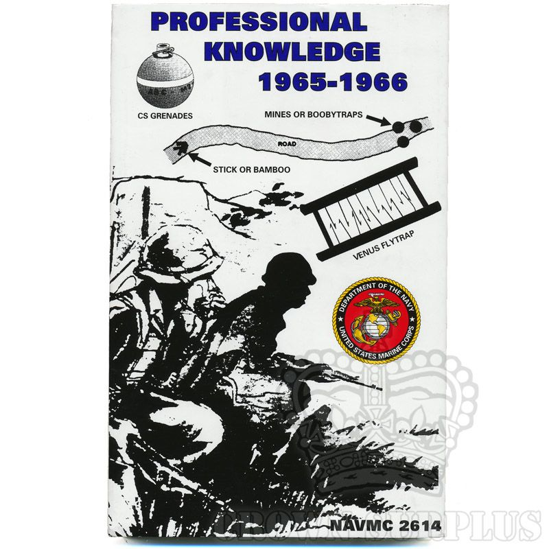Book - Professional Knowledge 1965-1966 (NAVMC 2614)