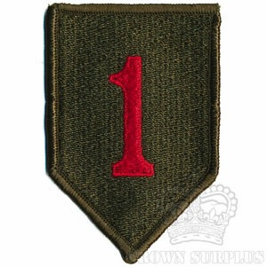 Patch, US 1st Infantry Div. ''Big Red One''