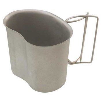 GENUINE SURPLUS Canteen Cup - Genuine Issue - Steel - US Made