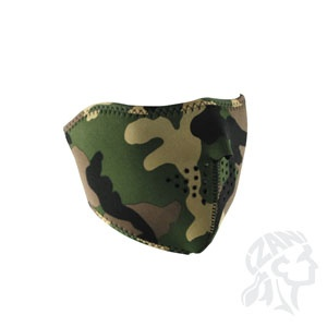 ZAN ZAN Headgear, Neoprene Half Mask, Woodland