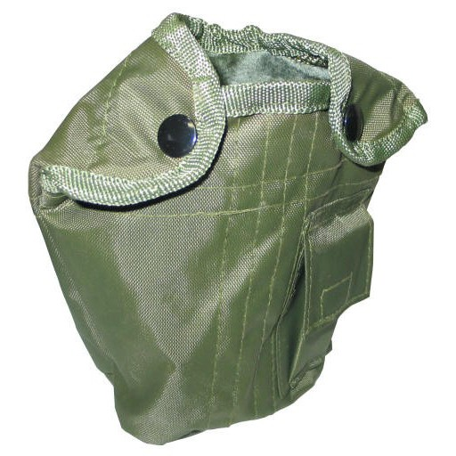 GENUINE SURPLUS Cover - Pouch - Canteen - Genuine US Surplus Issue - Olive - Used