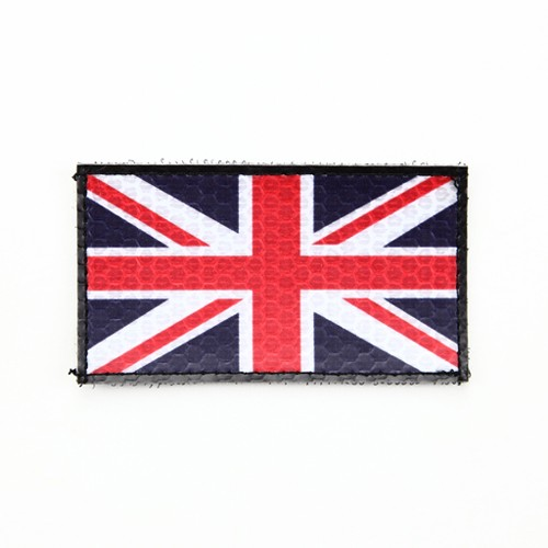 Flag Patch, Union Jack, High Visibility