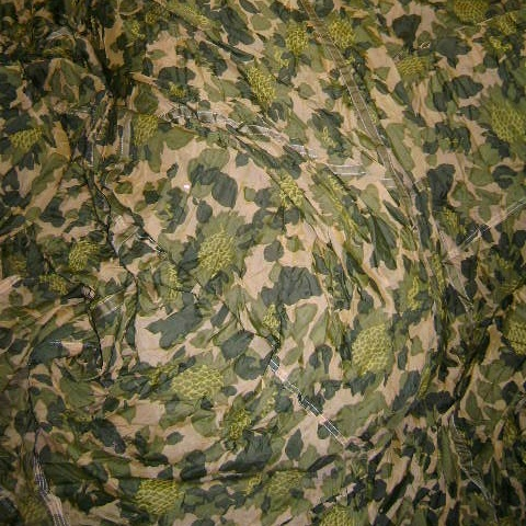 PARACHUTE Parachute, 30 ft. Dia, Chinese Sunflower Camo