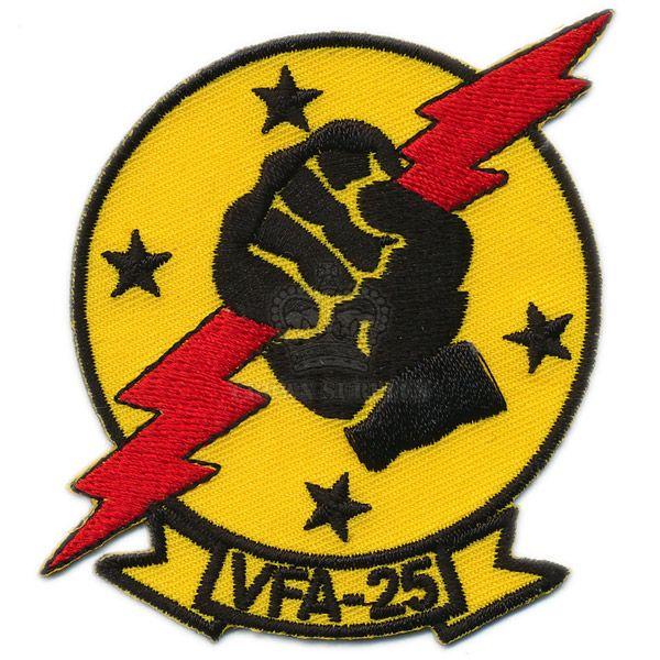 Patch, Strike Fighter Squadron 25 [VFA-25] ''Fist of the Fleet''