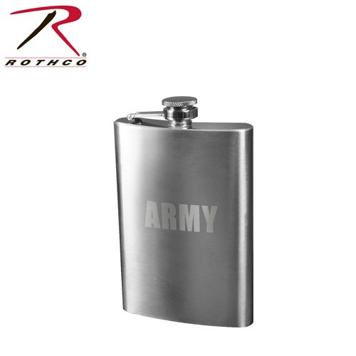 ROTHCO Rothco, ARMY Engraved, Stainless Steel Flasks