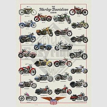 Poster - The Harley Davidson Legend