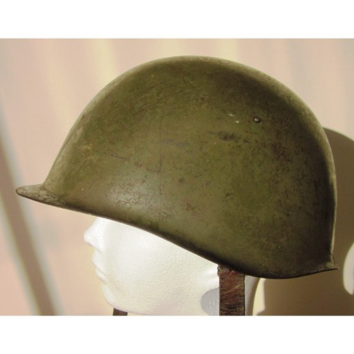 GENUINE SURPLUS Helmet, M-53. Czechoslovakian Army Issue, Grade 1