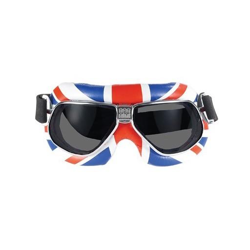 NANNINI ITALY Goggles - Nannini - Cruiser 6200 - Green - White - Red /Silver Antifog Lens