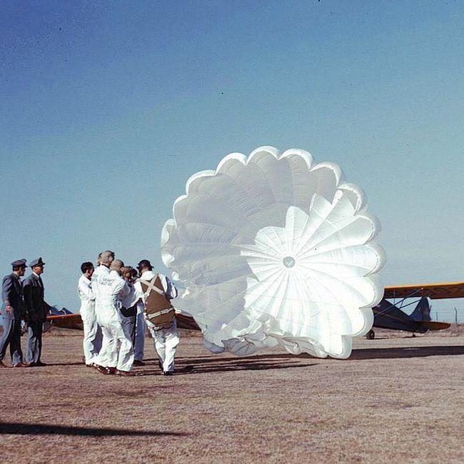 PARACHUTE Parachute, 30 ft. Dia., White