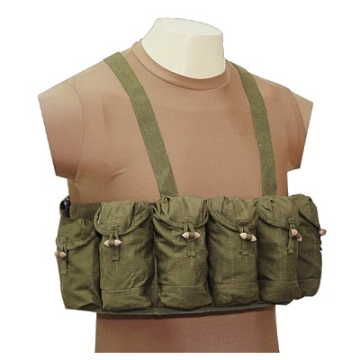 GENUINE SURPLUS SKS M-63 Seven Pocket Chest Rig