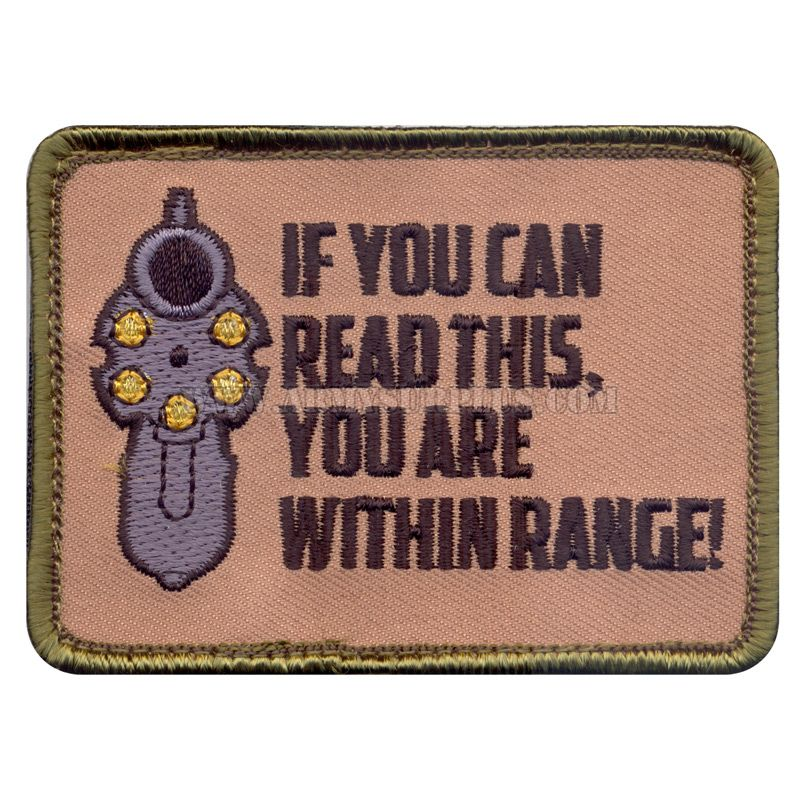 ROTHCO Rothco, If You Can Read This Patch