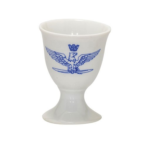 GENUINE SURPLUS Italian Air Force Egg Cup, Blue and White