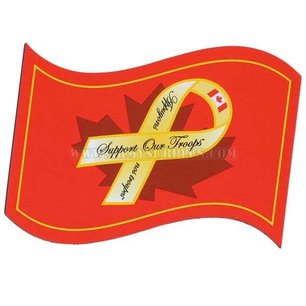 Support the Troops, Flag Magnet